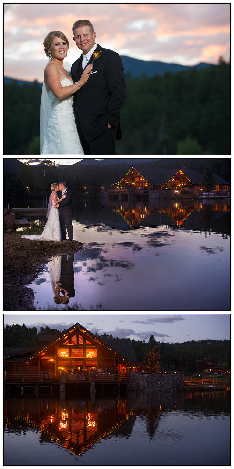 Beautiful Colorado Wedding At The Evergreen Lake House