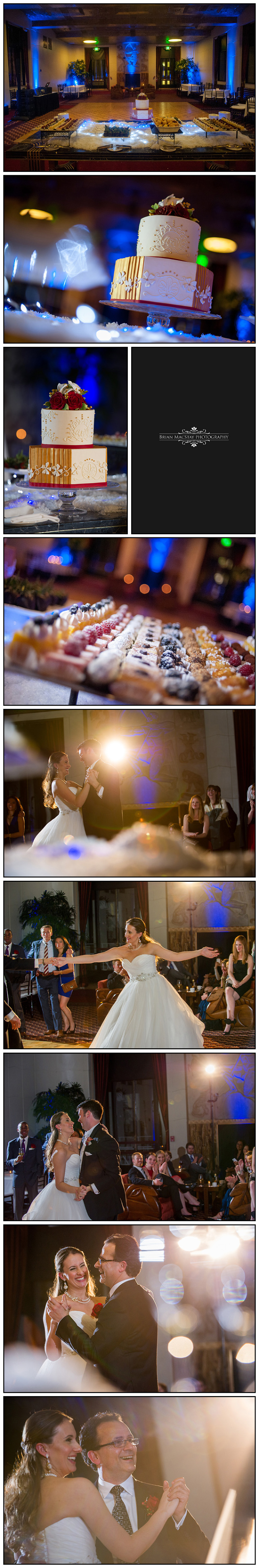 Winter Wedding At Grace Cathedral And The City Club Of San Francisco