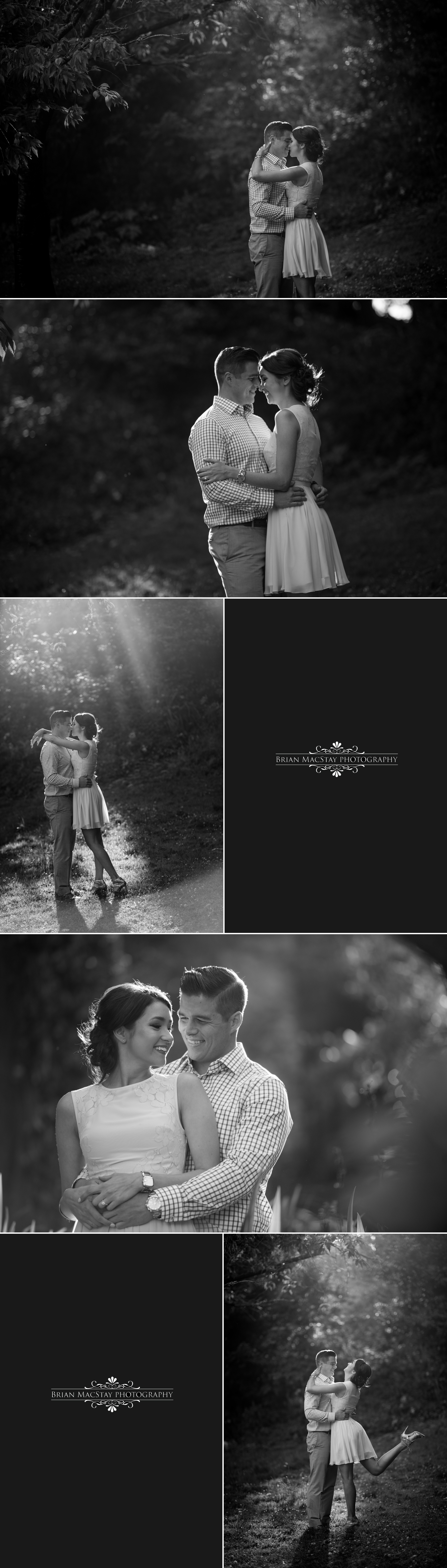 San Francisco Engagement Photos at Sutro Baths and Golden Gate Park 3