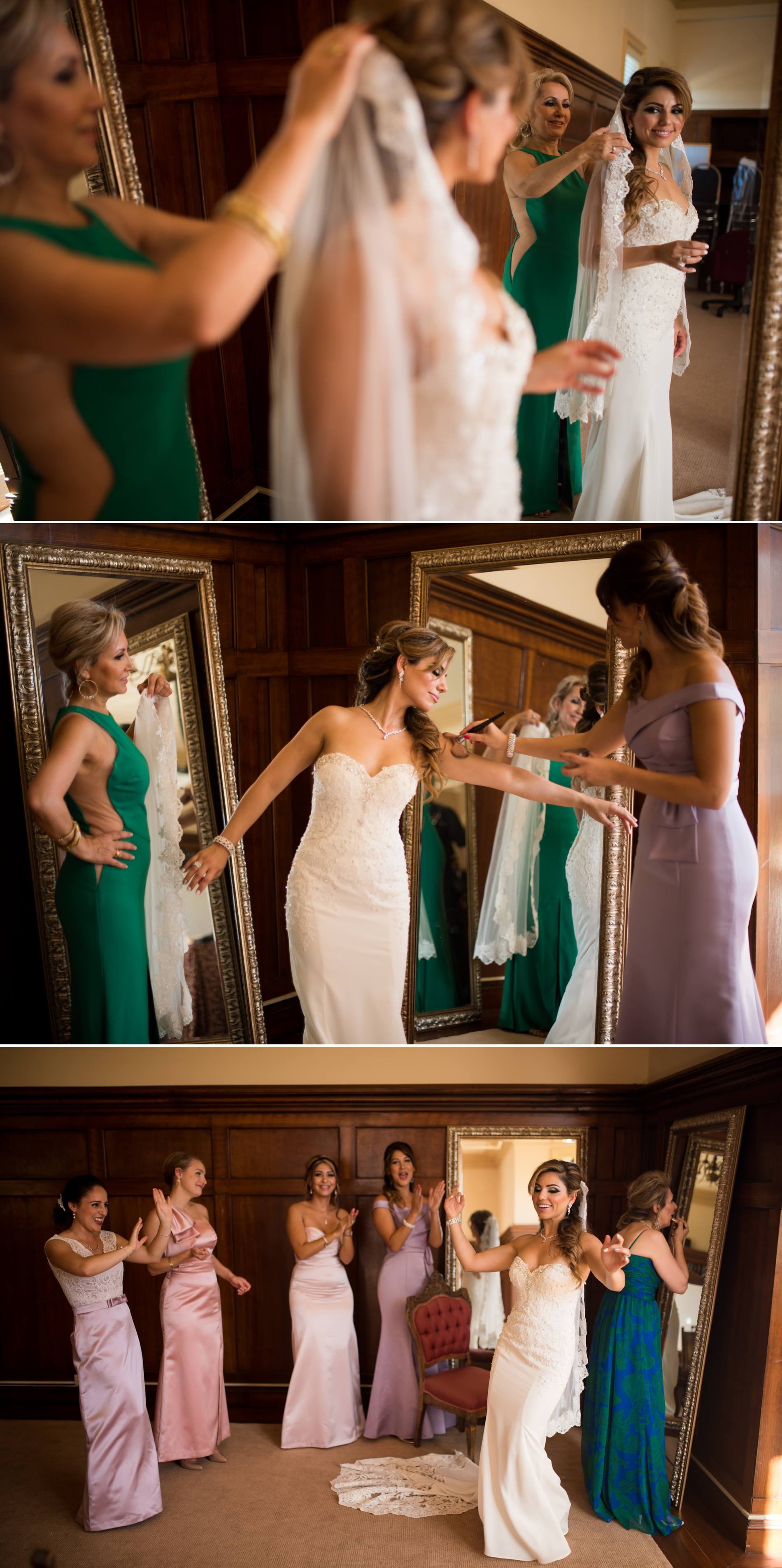 Persian Wedding at the Kohl Mansion in Burlingame | Parmida and ...