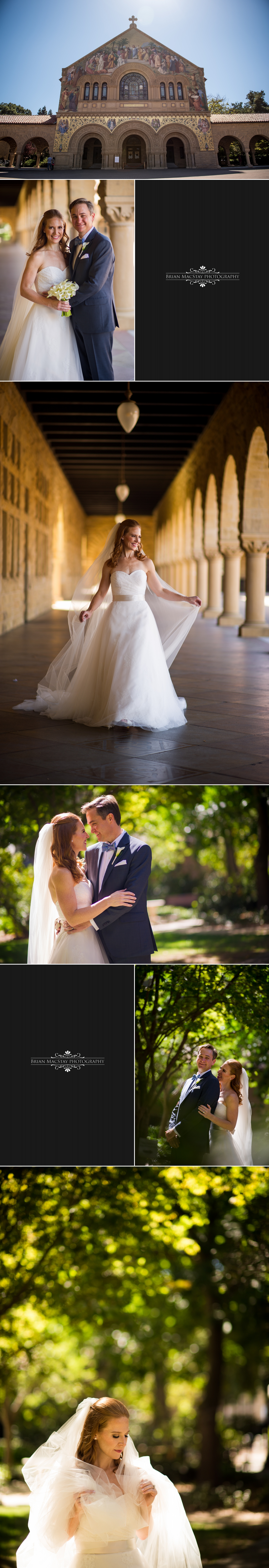 Wedding At Stanford Memorial Church And The Stanford Park